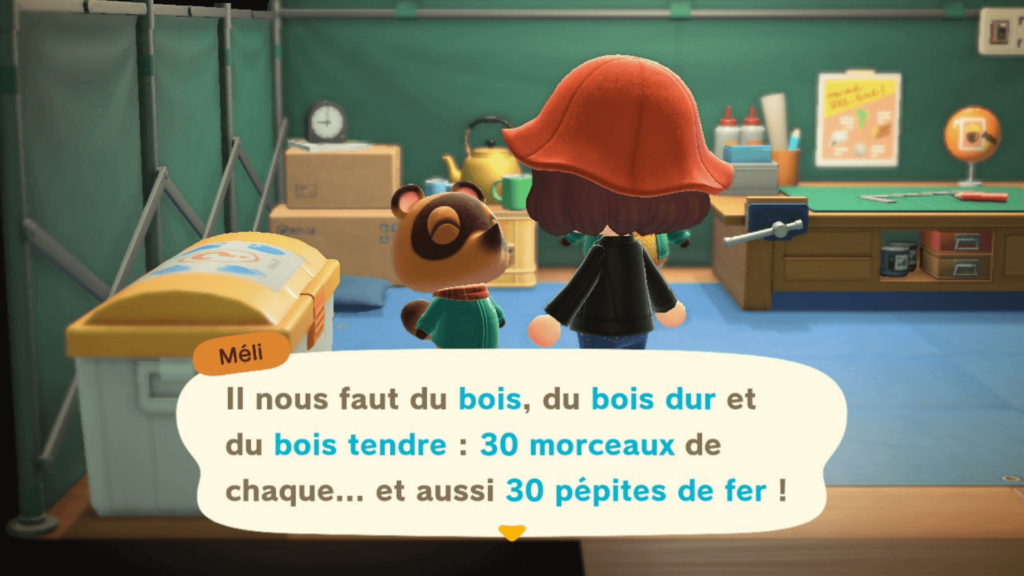 Guide : bien débuter sur Animal Crossing New Horizons