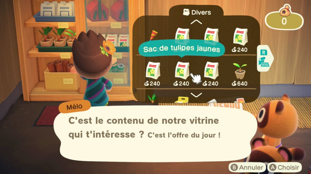 Les hybrides sur Animal Crossing New Horizons
