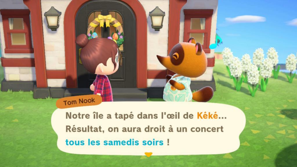 Débloquer le remod'île sur Animal Crossing New Horizons