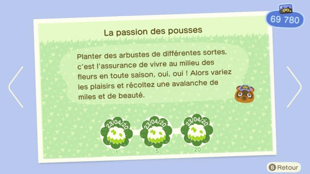 Le jour de la nature sur Animal Crossing New Horizons