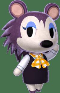 Tiquette et ses exercices de style sur Animal Crossing New horizons