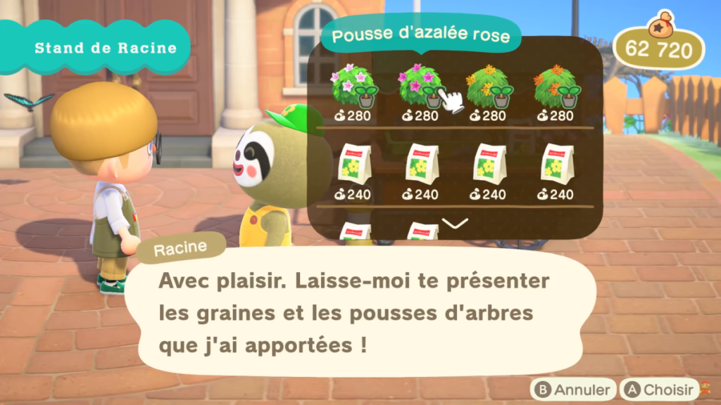 Mise à jour d'Animal Crossing New Horizons le 23 avril