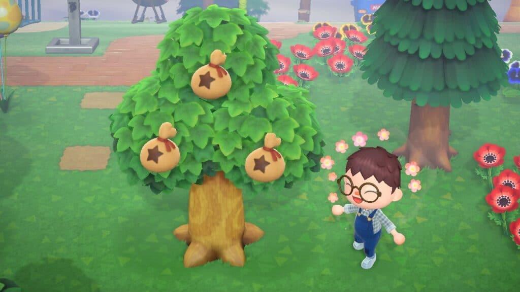 Se faire un max de clochettes dans Animal Crossing New Horizons