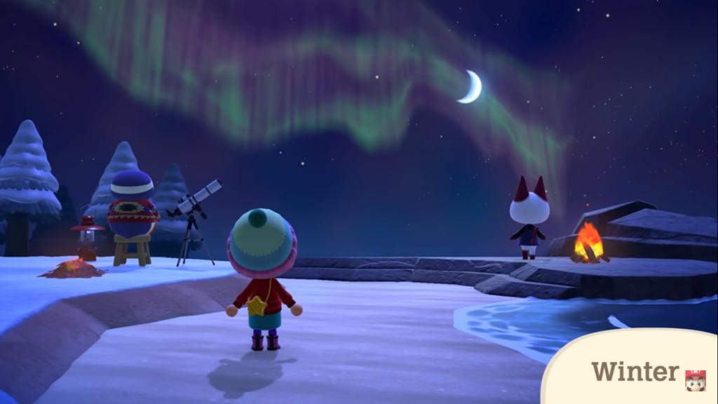 La Météo dans Animal Crossing New Horizons - Nook Island