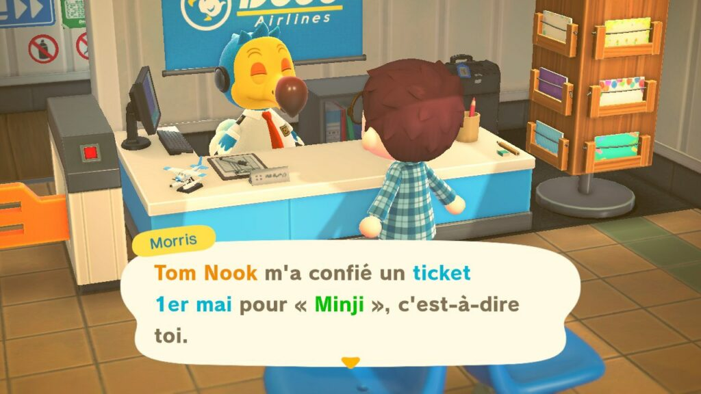 L'escapade du 1er mai sur Animal Crossing New Horizons