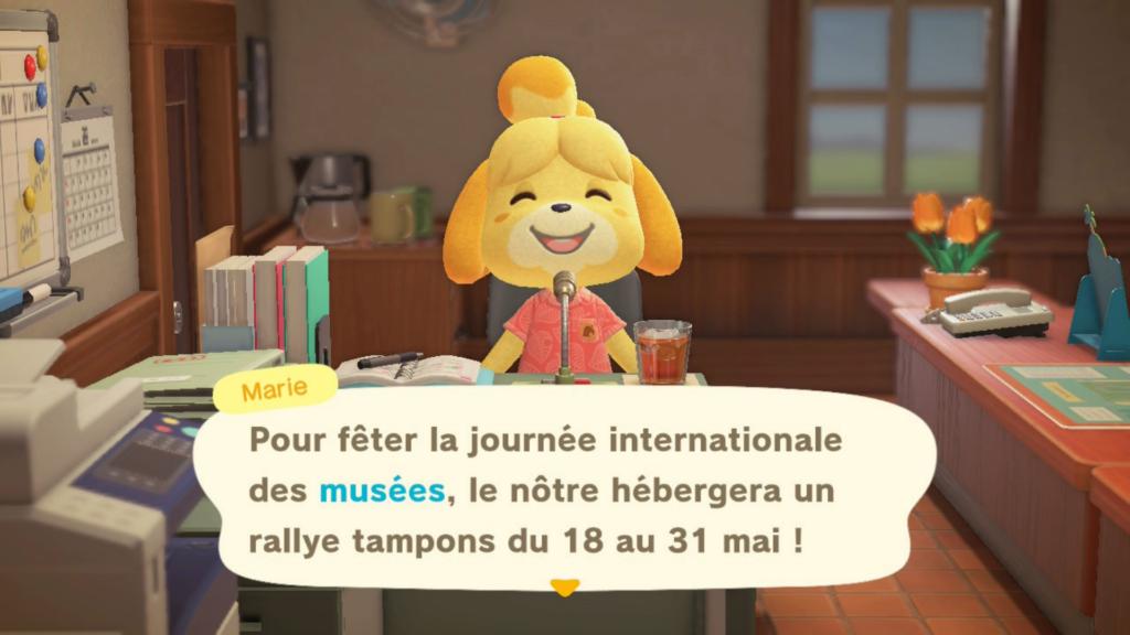 🦉 La Journée Internationale des Musées dans Animal Crossing New Horizons
