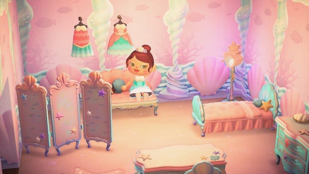 🐚 Pascal et la collection sirène sur Animal Crossing