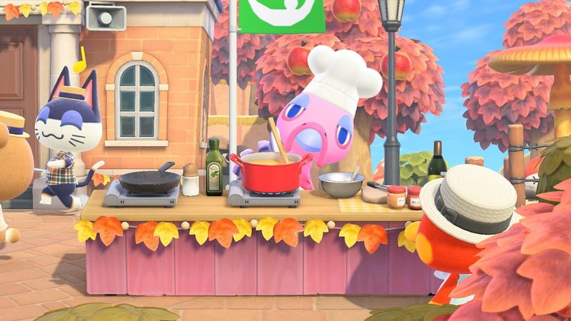 Le jour du partage sur Animal Crossing New Horizons