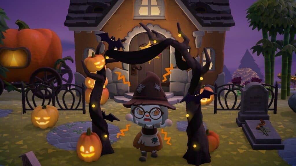 Halloween dans Animal Crossing New Horizons (31 octobre)