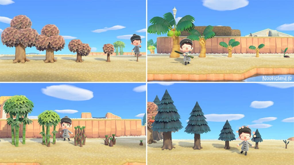 Stopper la pousse des arbres sur Animal Crossing New Horizons