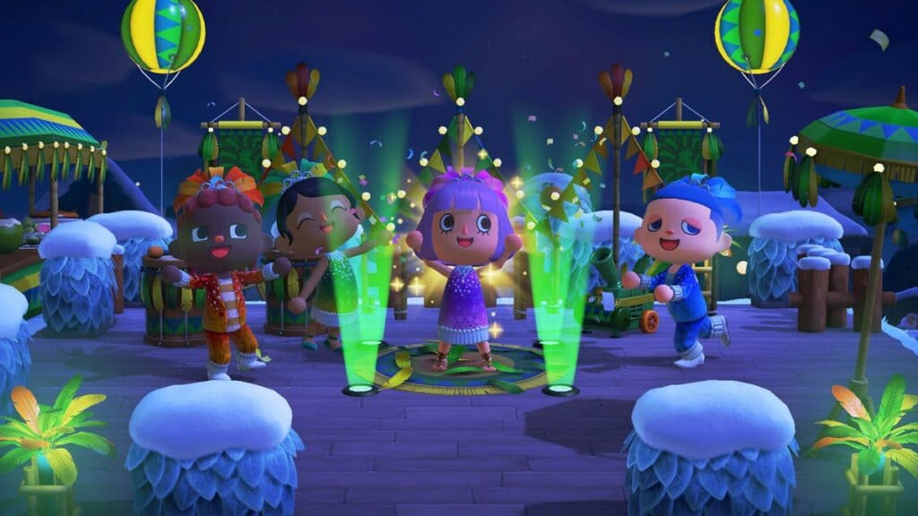 🦚 Le Carnaval dans Animal Crossing New Horizons