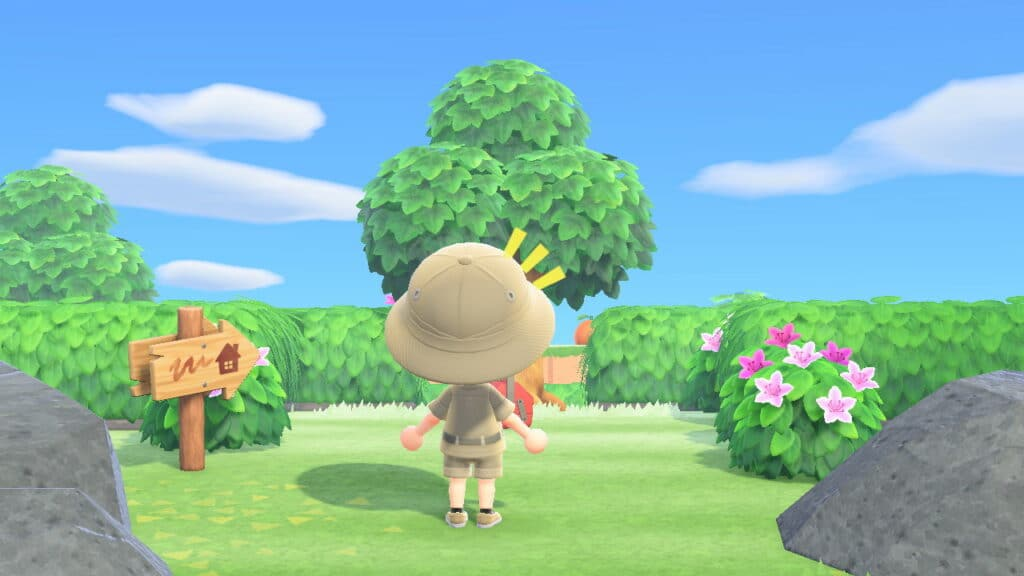 Escapade du 1er Mai sur Animal Crossing New Horizons